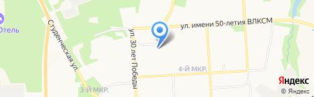 Медицинский Отдел УФСИН РФ по УР на карте Ижевска