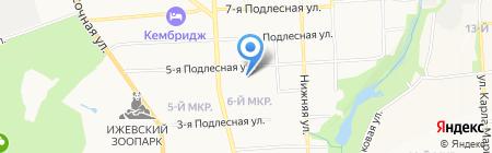 SugarOk на карте Ижевска