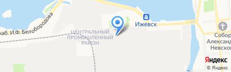 Станко-инструмент на карте Ижевска