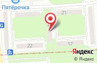 Схема проезда до компании Континенталь в Ижевске