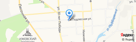 Почтовое отделение №69 на карте Ижевска