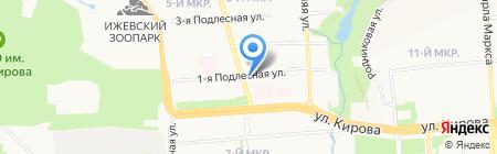 Русфинанс Банк на карте Ижевска