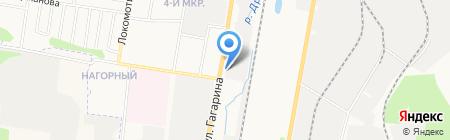 ЭТНА на карте Ижевска