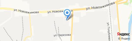 Импульс на карте Ижевска