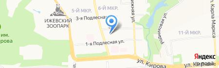 Alcoop на карте Ижевска
