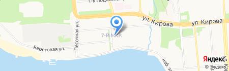 Детский сад №141 на карте Ижевска