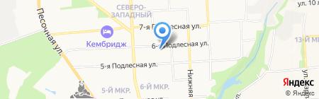 Draiv на карте Ижевска