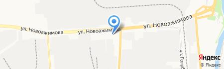 Городская поликлиника №6 на карте Ижевска