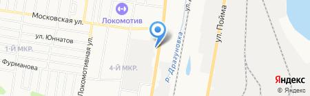 Ижевский автотранспортный техникум на карте Ижевска