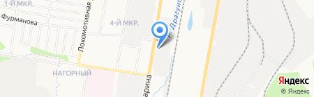 Южные электрические сети на карте Ижевска