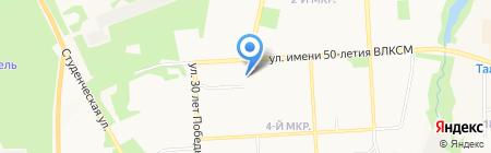 Подари ЗАВТРА на карте Ижевска