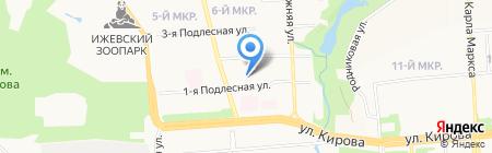 Инт.Экс-проект на карте Ижевска