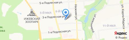 СтройПроект-Бюро на карте Ижевска