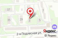 Схема проезда до компании Автопромподшипник в Ижевске
