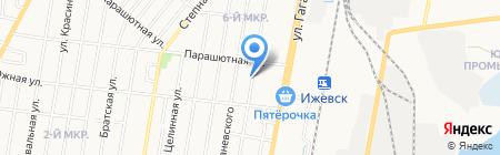 Сухарев Мебель на карте Ижевска