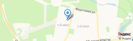 Колтома на карте Ижевска