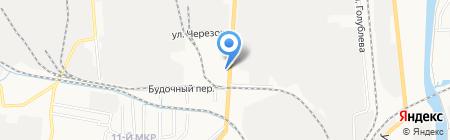 IZBA на карте Ижевска
