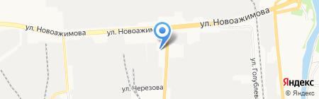 Азино на карте Ижевска