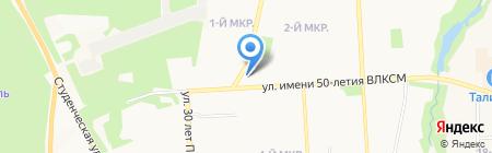 КладоFFка на карте Ижевска