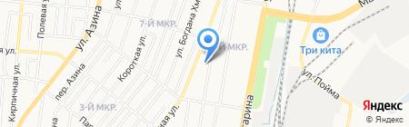 Детский сад №43 на карте Ижевска
