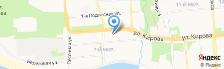 Альфа Медикал Групп на карте Ижевска