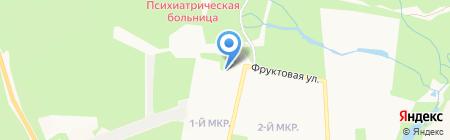 Грантович на карте Ижевска