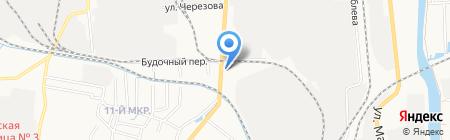 М. шина на карте Ижевска