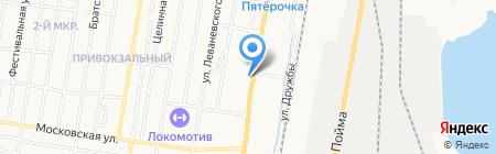 Московский государственный университет путей сообщения на карте Ижевска
