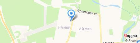 Библиотека №18 на карте Ижевска
