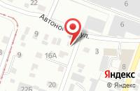 Схема проезда до компании IMPERIO в Ижевске