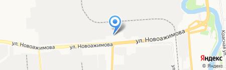 Ижсталь-авто на карте Ижевска