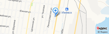 Котильон на карте Ижевска
