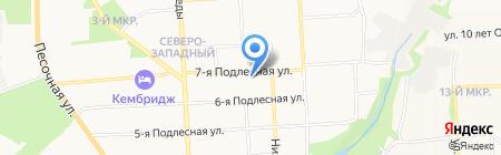 Кристалл-ОТК на карте Ижевска