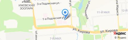 Школа Практической Психологии на карте Ижевска