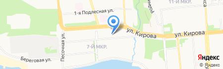 Участковый пункт полиции №23 Отдел полиции №2 УВД по г. Ижевску на карте Ижевска