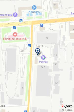 WEB-PARTY на карте Ижевска