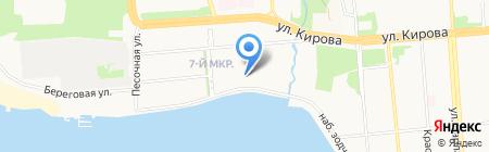 Стоматологическая клиника доктора Дементьевой на карте Ижевска