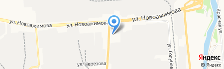 Вита центр на карте Ижевска