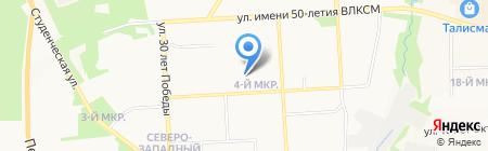 Детский сад №21 на карте Ижевска