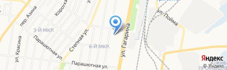 Салават на карте Ижевска