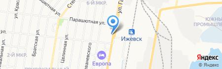Мегафон на карте Ижевска