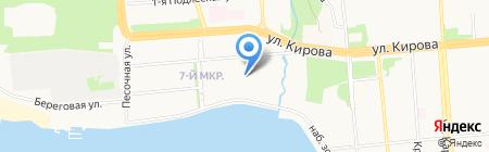 Меркурий Урал на карте Ижевска