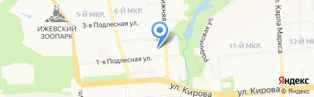 Аудитор на карте Ижевска