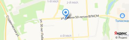 С на карте Ижевска