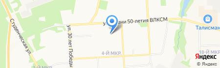 Канотерм на карте Ижевска