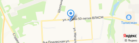 Булочная на карте Ижевска