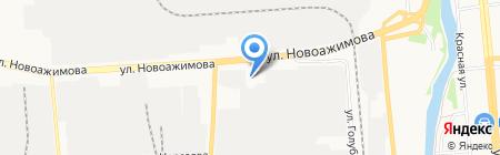 Иж-Тандем на карте Ижевска