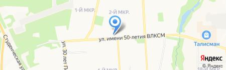 Вольф и Ко на карте Ижевска
