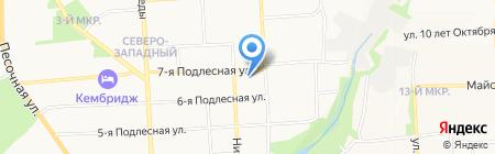 Аварийно-диспетчерская служба на карте Ижевска