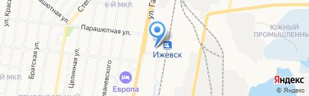 Пресс-тайм на карте Ижевска